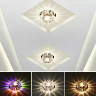 5W水晶led射燈