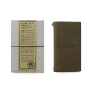 traveler's notebook olive 橄欖綠 限量色 手帳