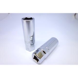 火星塞套筒 CRV鉻釩鋼 亮面 3/8 1/2 16mm 21mm