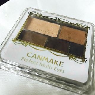 (9成新)canmake 眉眼影盤 %2301