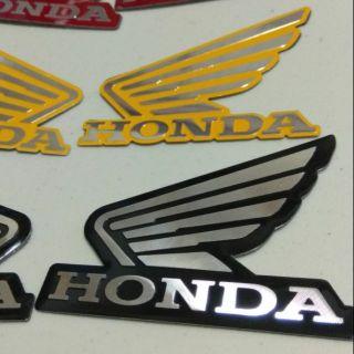 Honda 本田 msx nsr cbr 金屬 貼紙