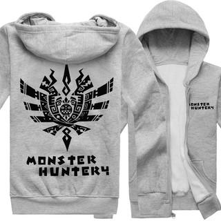 怪物獵人 衛衣 衣服 長袖 外套 拉鏈 monster hunter 周邊 加絨