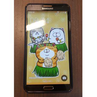 三星 note3 N900U 全頻版 黑金 16g