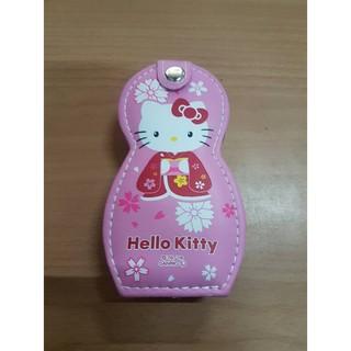 日本帶回正品 凱蒂貓粉色 Hello Kitty 葉朗彩彩 可愛指甲修剪6件組 禮物