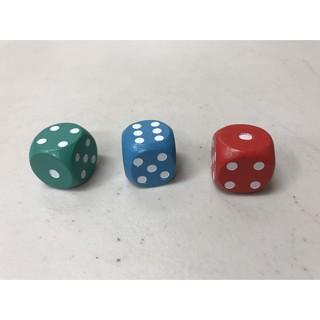 【雙子星】18mm 木質骰子 適用 桌遊 精靈寶可夢 TCG 地產大亨超級瑪莉 經典收藏版 桌遊 任天堂 瑪莉歐兄弟