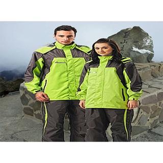 達新雨衣 達新牌 休閒 彩仕型  風衣 雨衣 A09 (蘋果綠/灰)  兩件式 登山 騎士服 台灣品牌8