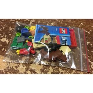 LEGO 樂高 CITY 城市系列 7566 迷你 農場 小豬 小狗 農夫 場景 補充 擴充 餵食 飼養
