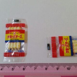 日本食玩re-ment - 起司熱狗一包(內有起司熱狗)