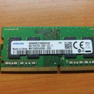 筆電 記憶體 三星 ddr4 2400 4g