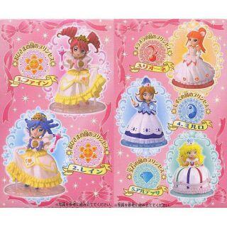 [5款合售] BANDAI 不可思議星球的 雙胞胎公主 雙子公主 盒玩 公仔