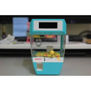 《精緻玩具》迷你版玩具夾娃娃機 時鐘、鬧鐘、遊戲模式 甩爪免費練 (新增micro USB)
