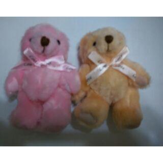 娃娃機 戰利品 二隻 熊 關節熊 絨毛熊 長毛 畢業熊 娃娃 玩偶 小娃娃 收藏 擺設 婚禮 小物 另有 拉拉熊吊飾娃娃