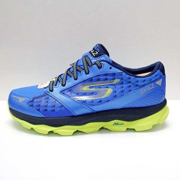 Skechers GOrun Ultra 2 男 藍 螢光 慢跑鞋 路跑鞋 53918BLLM