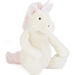 英國JELLYCAT 獨角獸安撫玩偶 Bashful unicorn huge soft toy 51cm