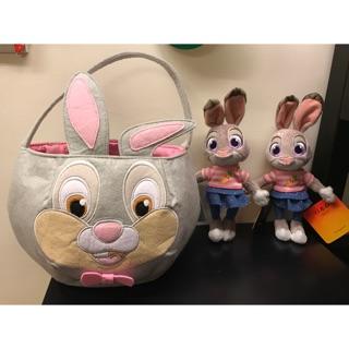 全新 美國迪士尼桑普兔手提袋.茱蒂兔玩偶