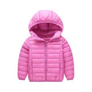 Geyari 粉色羽絨外套