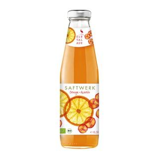 智慧德國有機柳橙櫻桃汁500ml*3罐入 玻璃限宅配