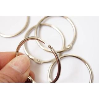 金屬鑰匙圈 / 書環 / 開口圈 / 卡圈 / 裝訂鐵圈 / 裝訂鐵環 / 活動卡圈