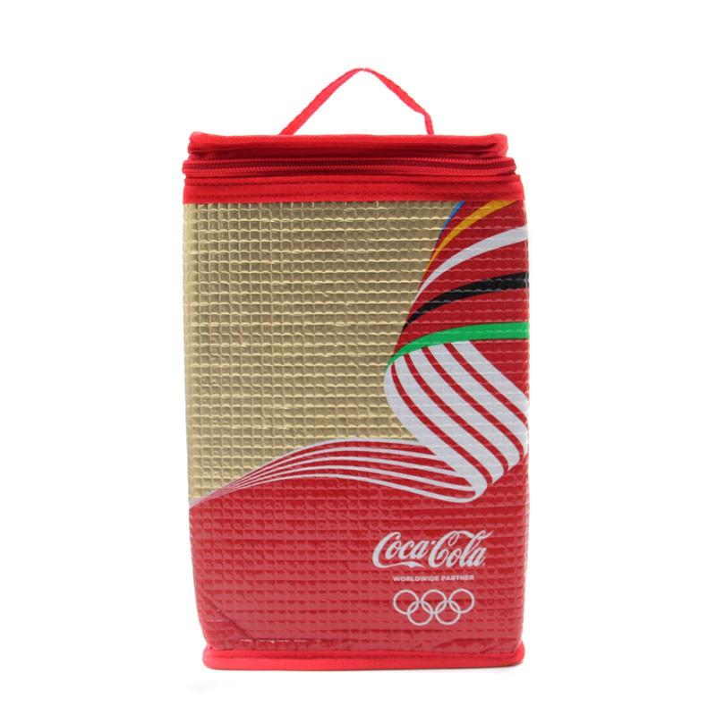 限定‼️日本奧運 可口可樂 紅黑手提長方形保溫包 冰包 啤酒保冰袋 手搖飲料保冰袋可折疊