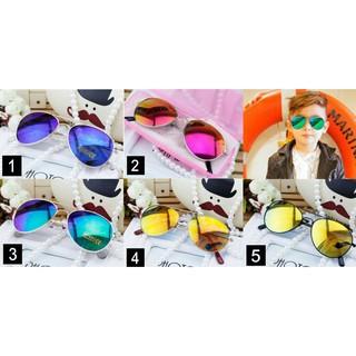 預購 // 兒童 雷朋金屬水銀鏡面 太陽眼鏡