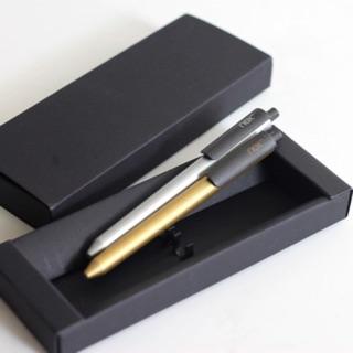金銀對筆組 PREMEC NEX 瑞士膠墨筆 氣質黑禮盒裝