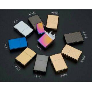 新款JL216金倫創意電弧打火機脈沖金屬電子點煙器USB充電打火機