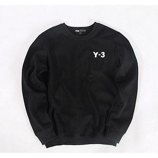 Y-3衛衣 大學T 長袖衛衣 長袖帽T 情侶裝 余文樂 陳冠希 W304