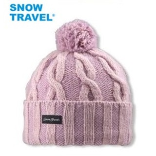 SNOW TRAVEL 100%3M 防風 美麗 時尚 諾羊毛85% 加厚3層 羊毛帽 看夜景 賞雪 運動 AR-60