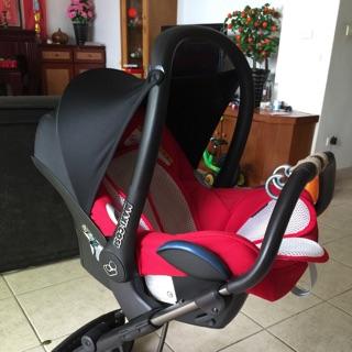 NUNA buggy推車+Maxi-Cosi Pebble提籃式安全座椅★