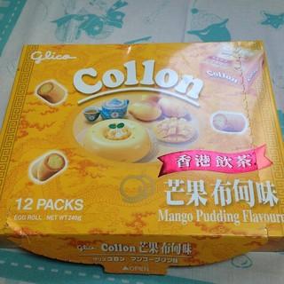 【泡菜拉麵】(現貨)香港·零食-固力果 香港飲茶芒果布丁捲心酥,拆售一小盒45元