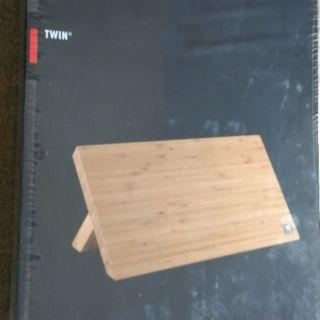 TWIN德國雙人牌刀具座 刀具架  磁性竹製刀具架 適合當新居落成禮物