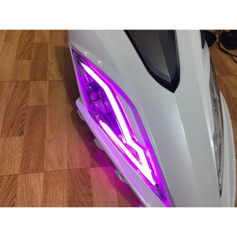 炬霸科技 光陽 G6 125 150 特仕版 LED 水晶 導光 條 方向燈 總成 燈眉 眉燈 新 G6 光條 光柱