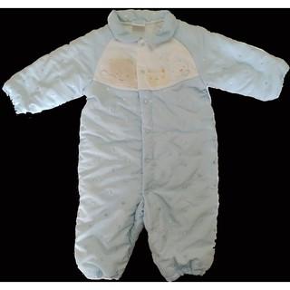 麗嬰房lesenphants  童裝 新生兒 秋冬厚棉保暖連身衣 包屁衣  睡袋  愛心刺繡點點