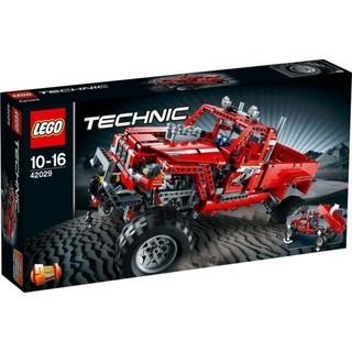 LEGO TECHNIC 科技系列 42029 紅卡車