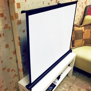 40吋 16:9 高清白玻纖 UC40專用款 投影機布幕 桌上型投影布幕 簡易布幕 桌上幕