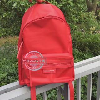代購outlet Longchamp法國正品雙肩後背包 防水強 優惠大小同等價