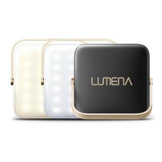 N9 LUMENA 行動電源LED照明燈-三色溫 露營燈/行動充電/行動電源- 小 神秘黑