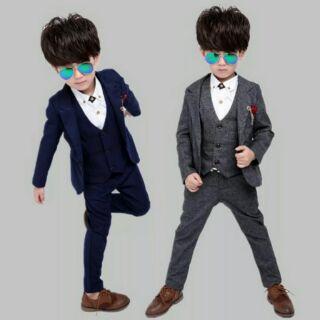 韓版男童西裝/花童西裝