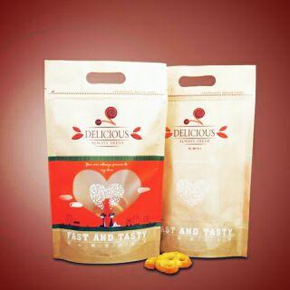 自封夾鏈袋 烘焙包裝 餅干糖果 堅果包装袋子