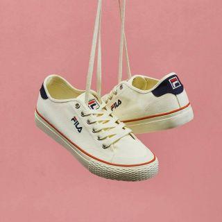 Fila二代帆布鞋 24號
