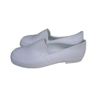 朝日牌萬便鞋白色男女用雨鞋海膠510 型 耐磨經濟型~配
