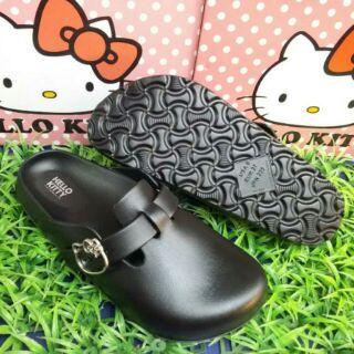 Hello Kitty 輕量休閒勃肯柏肯拖鞋包鞋懶人鞋雨鞋36~39