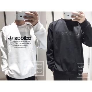 *大前賣場*Adidas Original Crew 大學Tee 刷毛 愛迪達 黑白 EQT CE7251