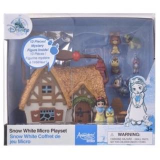 現貨 迪士尼 Disney 白雪公主 公主場景 娃娃屋