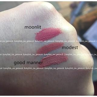 :eSpoir:Modest、Moonlit、Good Manner三色比較圖