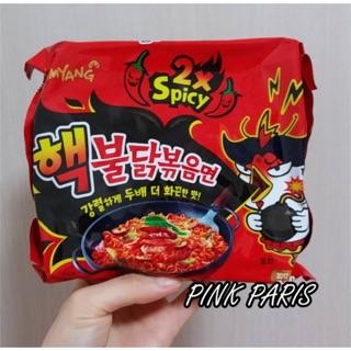 韓國內銷版 三養2x Spicy辣雞鐵板炒麵 2倍辣