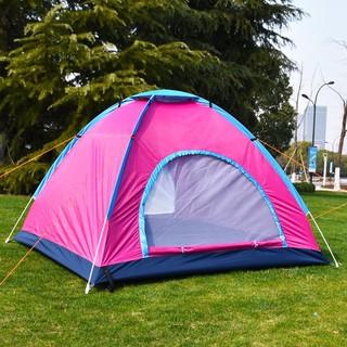 全自動帳篷2人帳篷戶外雙人沙灘防曬帳篷34人野外單人露營帳篷