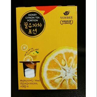 韓國 柚子茶球禮盒