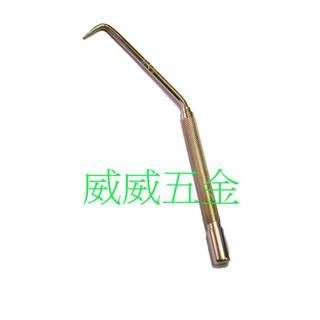 【威威五金】台灣製 專利型旋轉型壓花型鐵線器 專業用加長型鉛線鉤 鉛線勾 鐵線勾 番仔勾 綁線旋轉鉤 鋼絲鉤 牛