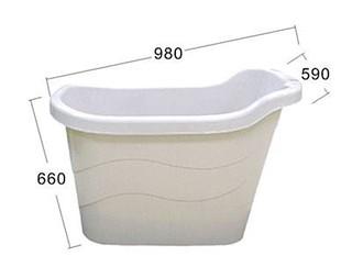 W魏夏米W<BX-7>186公升風呂健康泡澡桶 SPA浴桶 浴盆 浴缸 泡湯 泡泡浴 美容澡